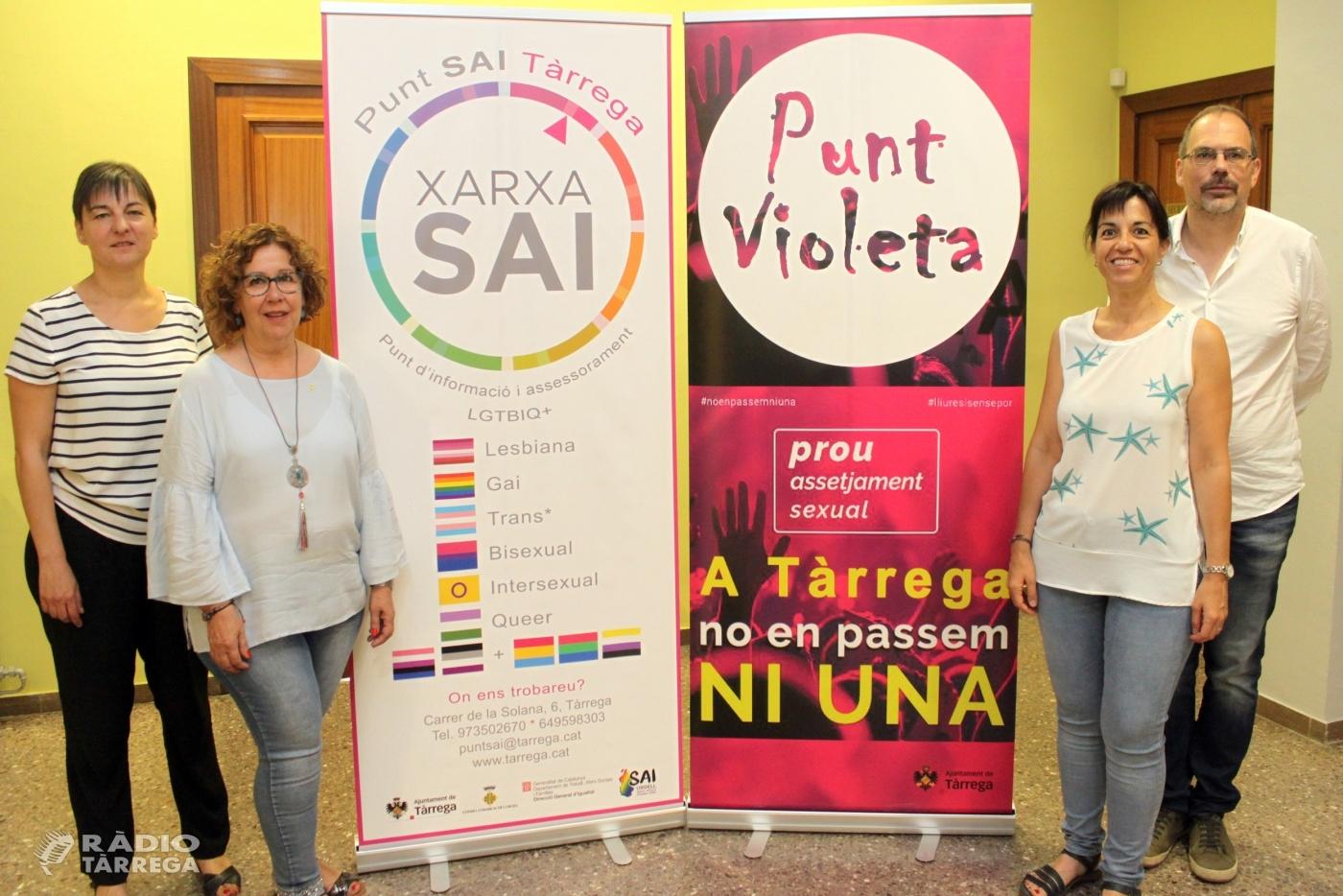 FiraTàrrega disposarà per primera vegada d'un Punt Violeta contra les violències sexistes, masclistes i LGTBIQ+fòbiques
