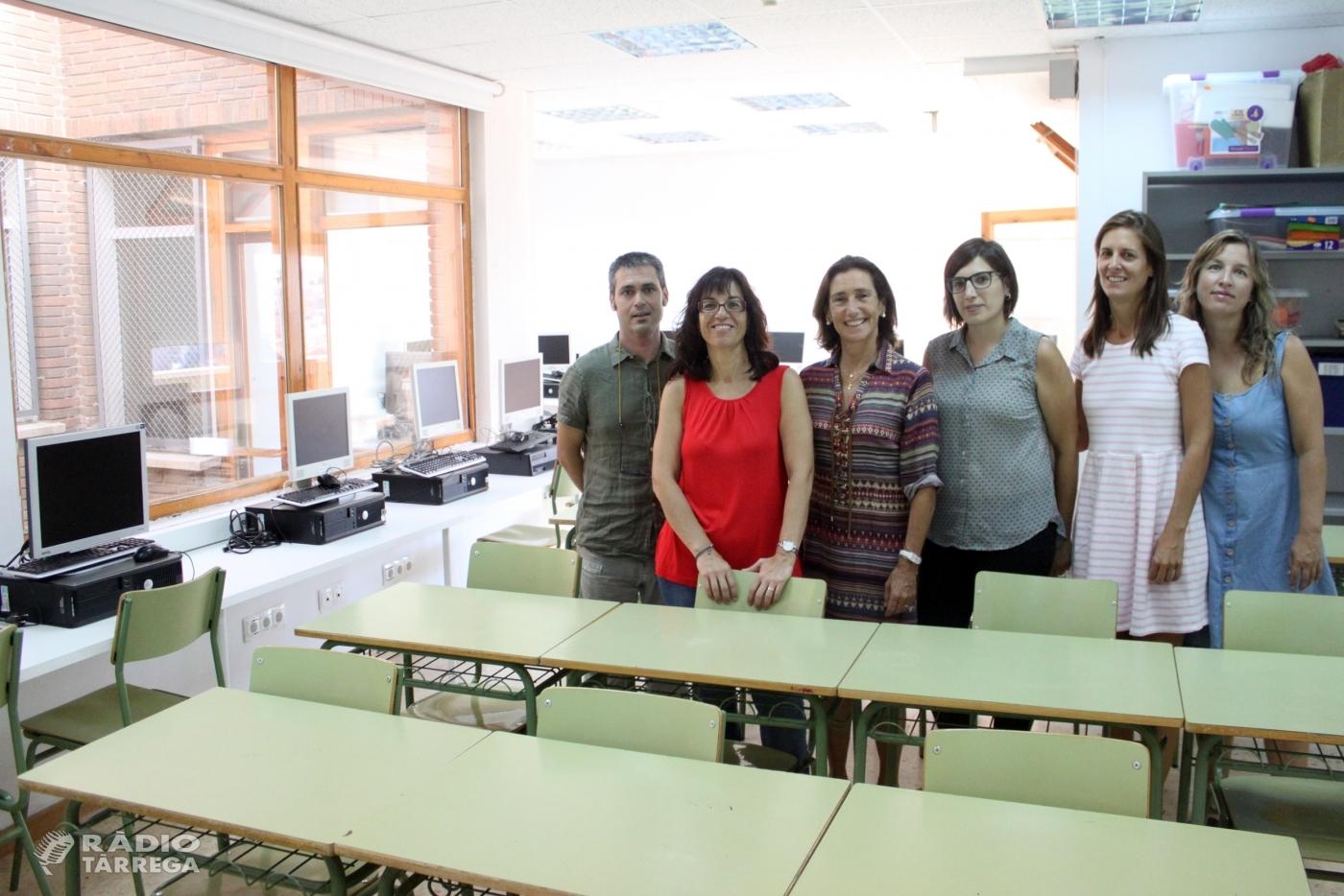 L'Ajuntament de Tàrrega amplia i millora les instal·lacions del Pla de Transició al Treball, servei d'inserció laboral i continuïtat educativa per a gent jove