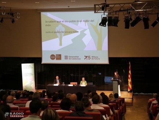 """Meritxell Budó presenta a Lleida el PUOSC 2020-2024 amb l'aposta per """"garantir l'equilibri territorial"""""""