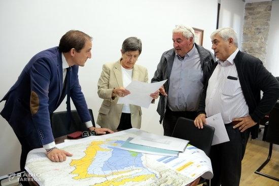 Cunillera expressa el compromís de l'Estat amb el projecte de modernització del canal d'Urgell