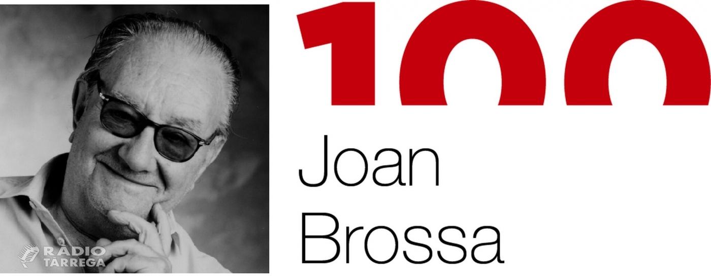 Tàrrega se suma a l'Any Joan Brossa i ofereix el dijous 26 de setembre un muntatge d'El Celler d'Espectacles inspirat en l'univers creatiu de l'autor