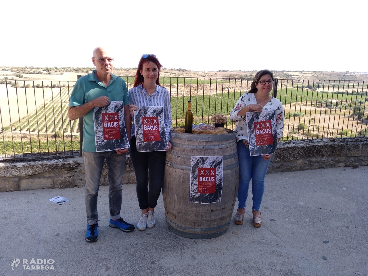 La Festa de la Verema i el Vi de Verdú compleix 30 anys