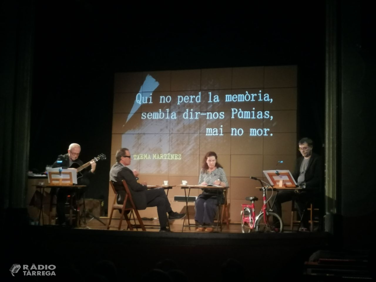 Òmnium Segarra-Urgell atorga la distinció 2019 al poeta guissonenc Jordi Pàmias