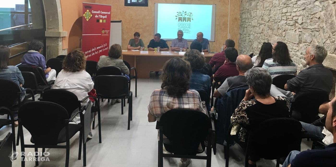Presentació de la nova pàgina web de l'Associació de Cases de Turisme Rural de l'Urgell