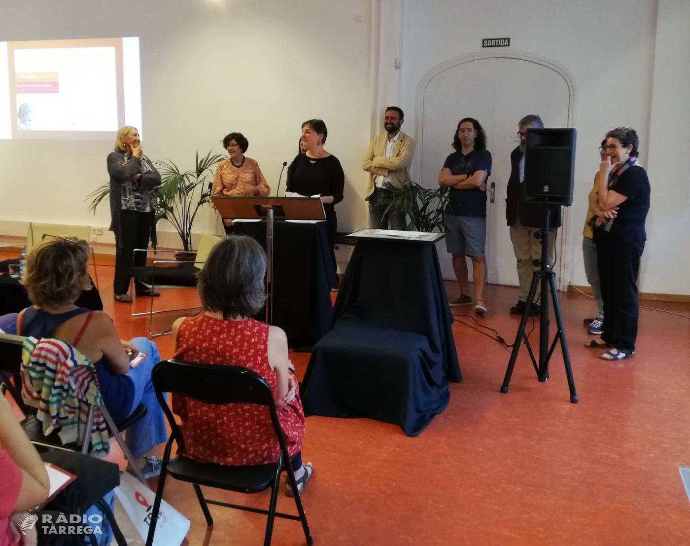 La targarina Mireia Fontanet rep una menció especial dels premis ASPÀSIA