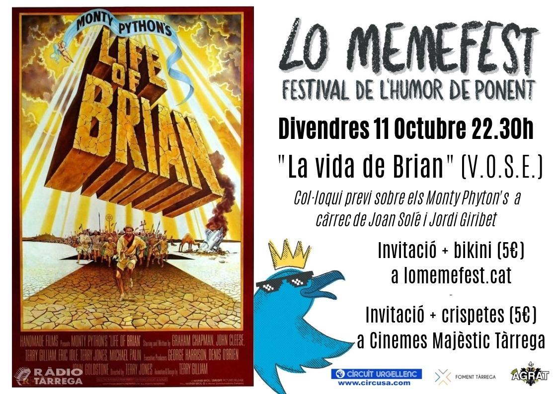 'La Vida de Brian' torna als Cinemes Majèstic 40 anys després durant 'Lo Memefest'