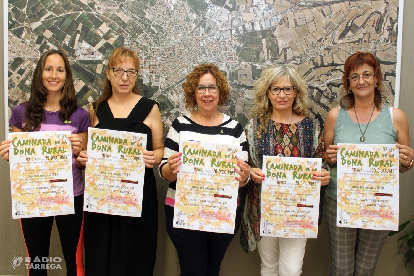Tàrrega convoca la tercera edició de la Caminada de la Dona Rural el diumenge 20 d'octubre