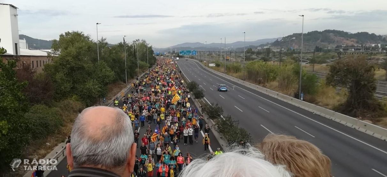 Les Marxes per la Llibertat arriben a Barcelona
