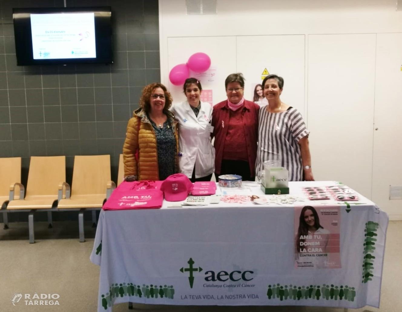 Activitats relacionades amb el Dia Mundial del Càncer de Mama a Tàrrega