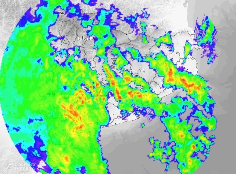 Protecció Civil activa en fase d'alerta per inundacions el pla INUNCAT i adverteix de possibles crescudes a rius com ara l'Ondara, el Corb i el Sió