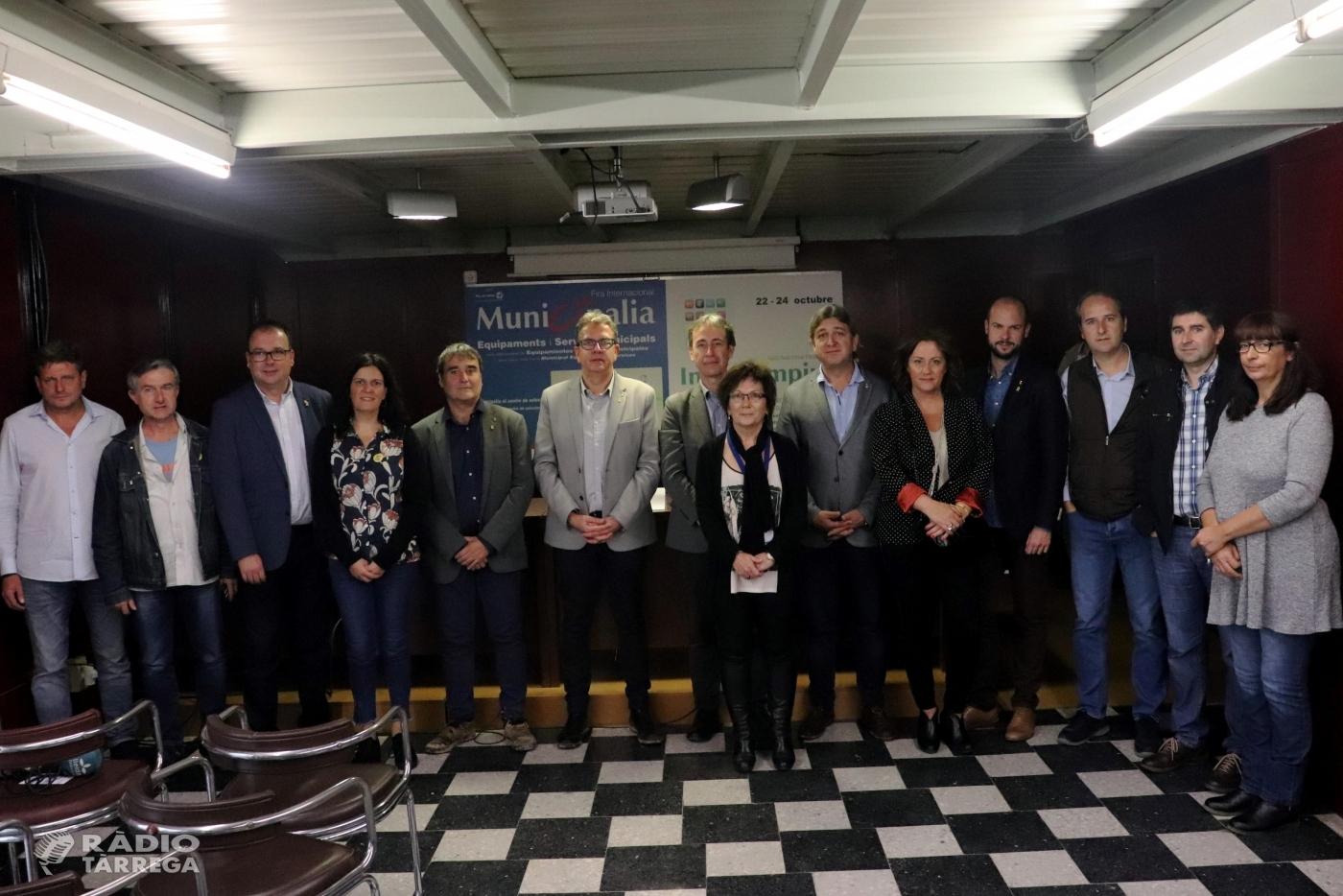 La Diputació de Lleida dona suport a 58 actuacions del projecte Ponent Actiu amb fons FEDER a les comarques de l'Urgell, Pla d'Urgell, el Segrià i les Garrigues