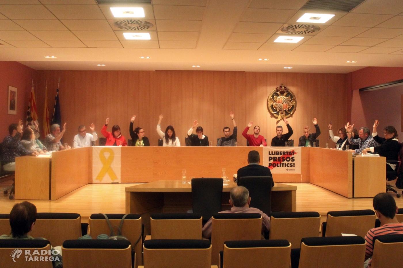 El Ple de l'Ajuntament de Tàrrega aprova la modificació del POUM que permetrà ampliar les instal·lacions de l'IES Alfons Costafreda