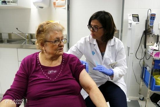 Comença la campanya de vacunació de la grip amb l'adquisició de més d'1,2 milions de dosis de la vacuna