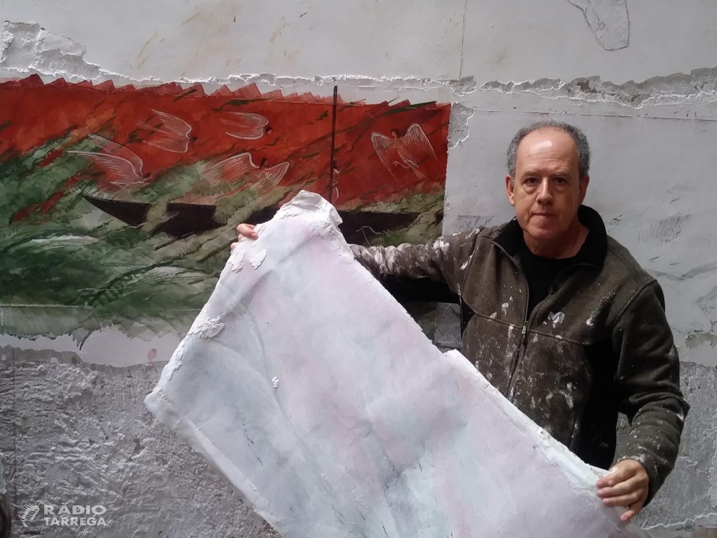 Josep Minguell arrenca mitjançant l'strappo el seu fresc 'L'Odissea', una col·laboració amb la universitat nipona de Waseda