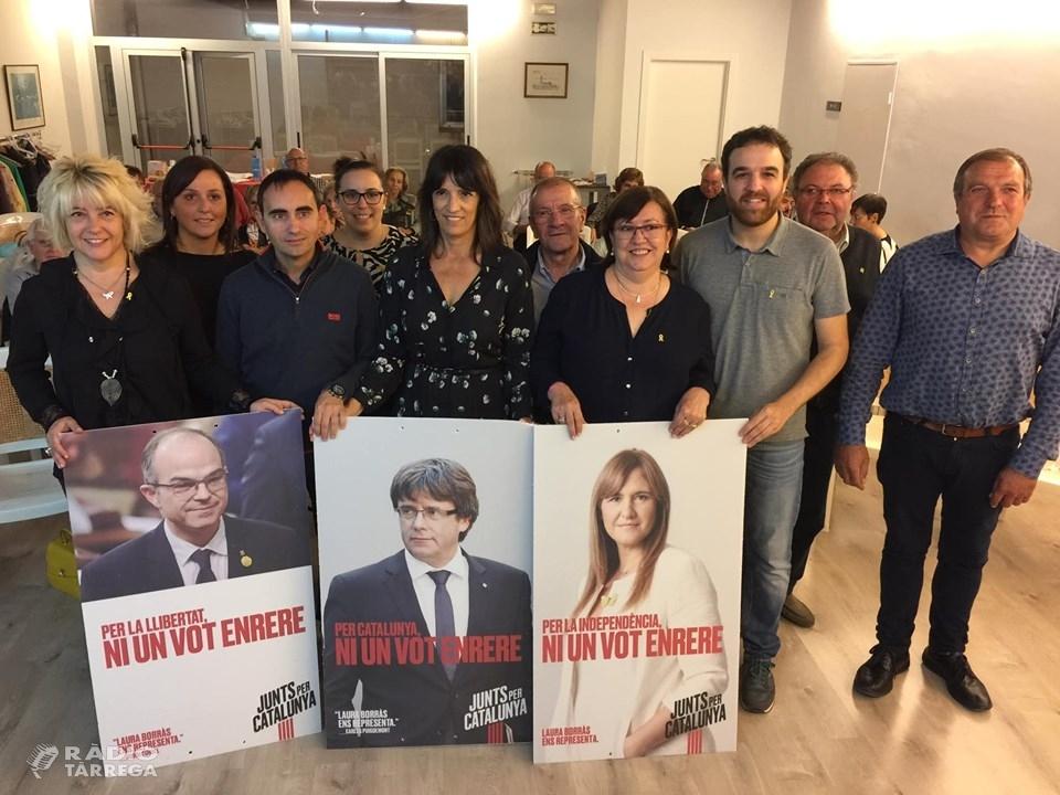 Junts per Catalunya organitza un col·loqui a Tàrrega amb la periodista Pilar Calvo