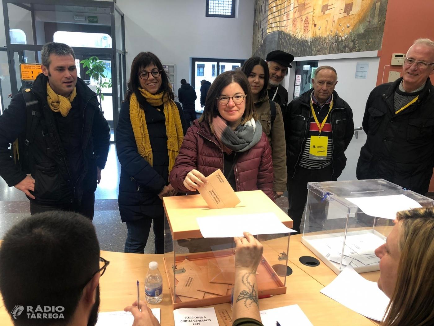 La targarina Sara Bailac renova el seu escó al Senat representant a ERC, que guanya les eleccions generals a la demarcació de Lleida i es repeteixen els mateixos resultats que a l'abril