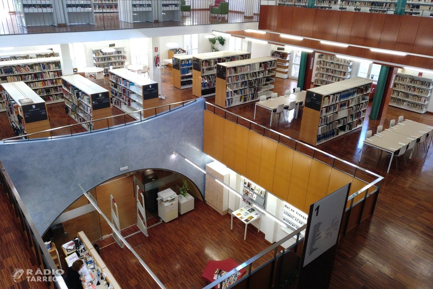 La Biblioteca Comarcal de Tàrrega celebra el seu 25è aniversari com a focus de cultura, ciutadania i divulgació