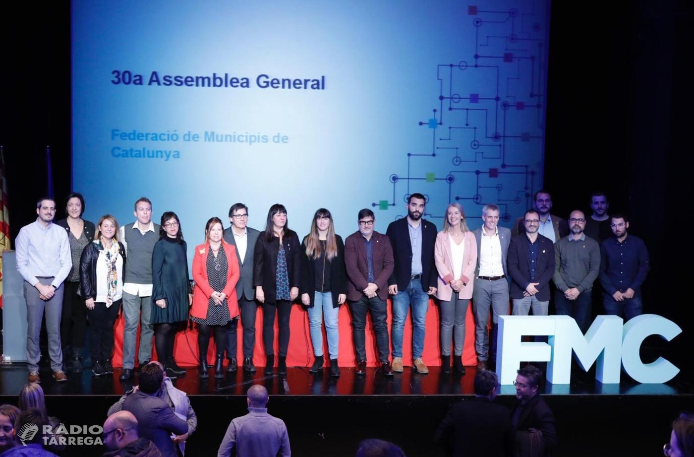 L'alcaldessa de Tàrrega, Alba Pijuan Vallverdú, assumeix una de les noves vicepresidències de la Federació de Municipis de Catalunya