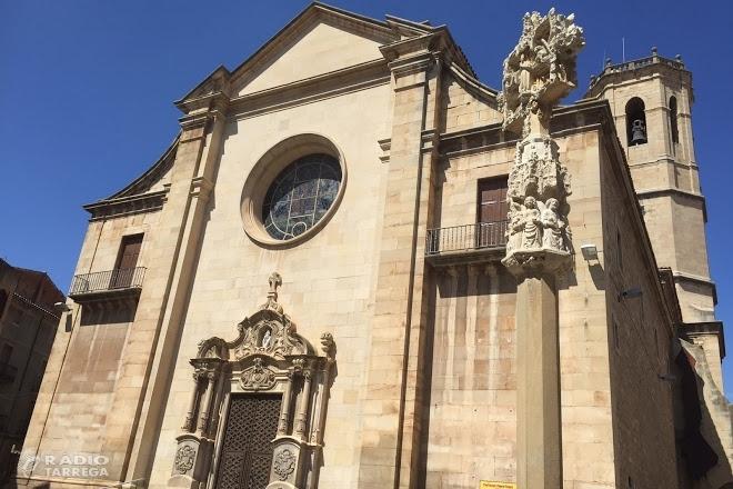 Campanya per sufragar les obres de restauració del cimbori i la teulada del temple parroquial de Santa Maria de l'Alba de Tàrrega
