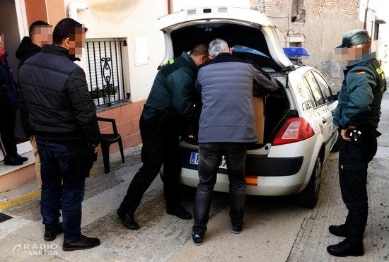 """L'Ajuntament de Bellpuig denuncia que l'operació antidroga de la Guàrdia Civil va """"vulnerar"""" els drets dels infants"""