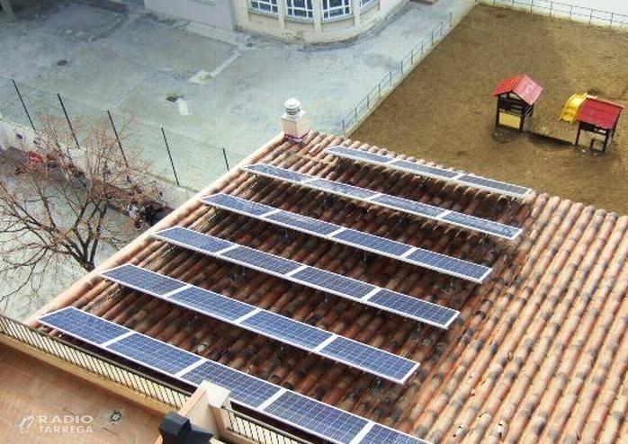 Agramunt bonificarà el 50% de l'IBI en les instal·lacions d'energies renovables