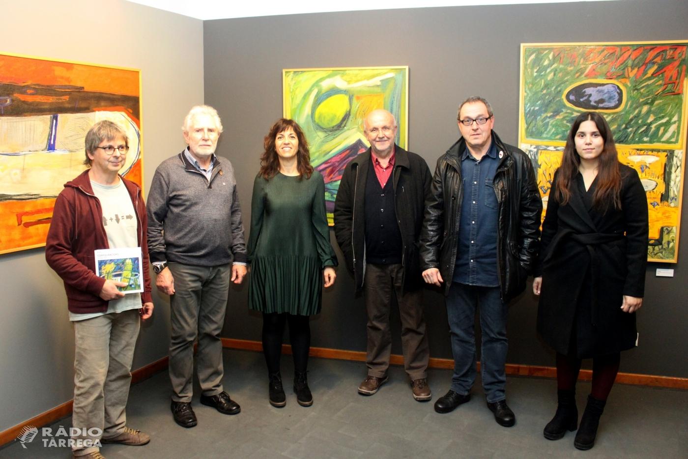 Una exposició al Museu Tàrrega Urgell descobreix el vessant abstracte del pintor targarí Francesc Rufes