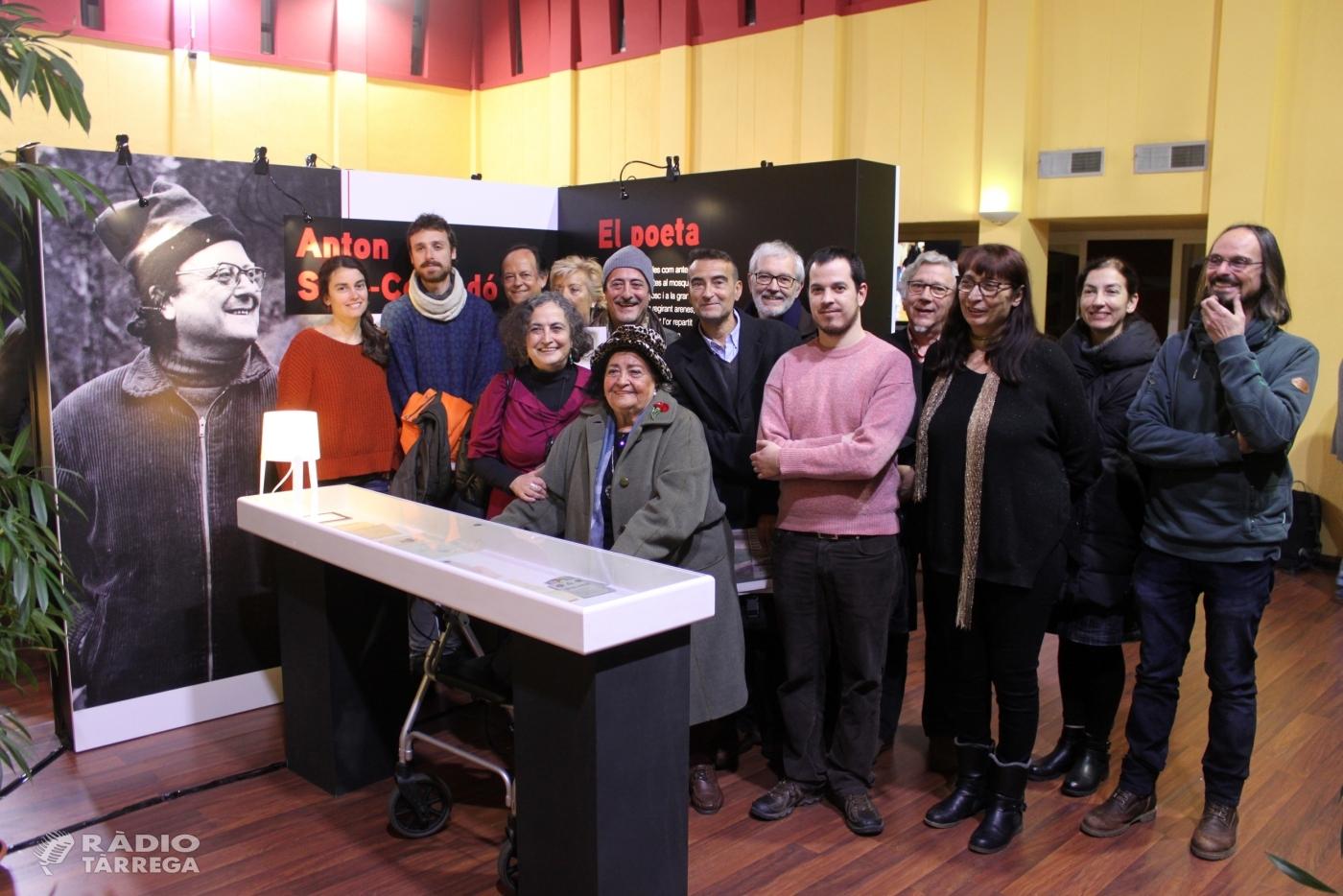 Tàrrega divulga la figura del poeta Anton Sala-Cornadó en una exposició a l'Arxiu Comarcal de l'Urgell