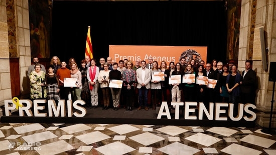 La Federació d'Ateneus de Catalunya premia el Cercle de Belles Arts i la Fundació Orfeó Lleidatà