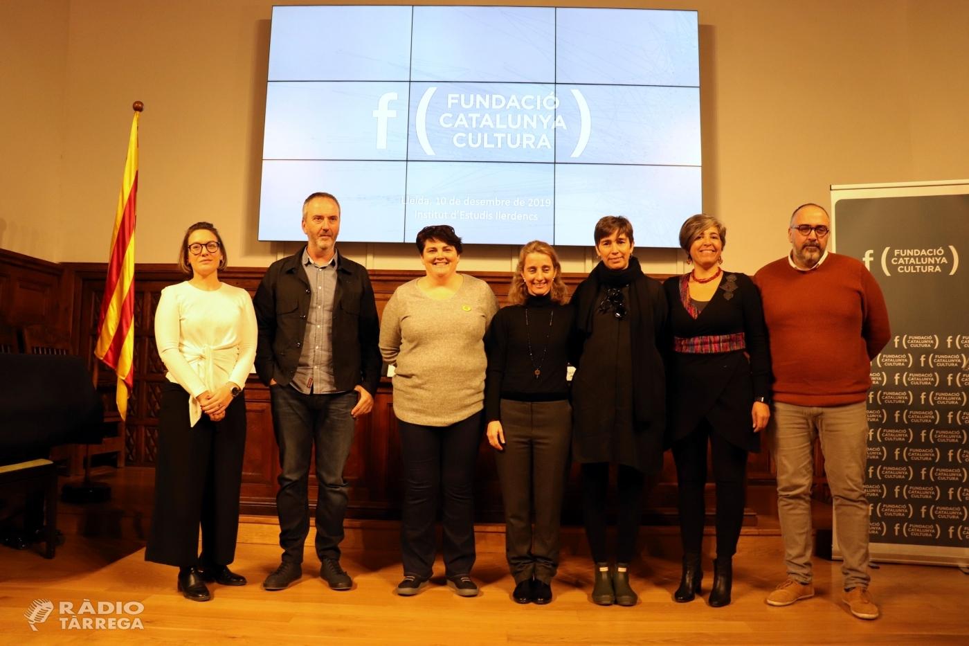 L'Institut d'Estudis Ilerdencs porta a debat el mecenatge en el món cultural