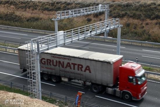 El doble radar de tram de l'A-2 entre Tàrrega i Vilagrassa multa més de 7.200 vehicles en set mesos de funcionament