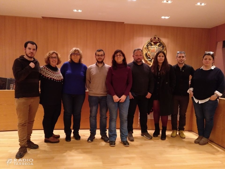 Pacte de Govern a Tàrrega entre ERC, la CUP i el PSC
