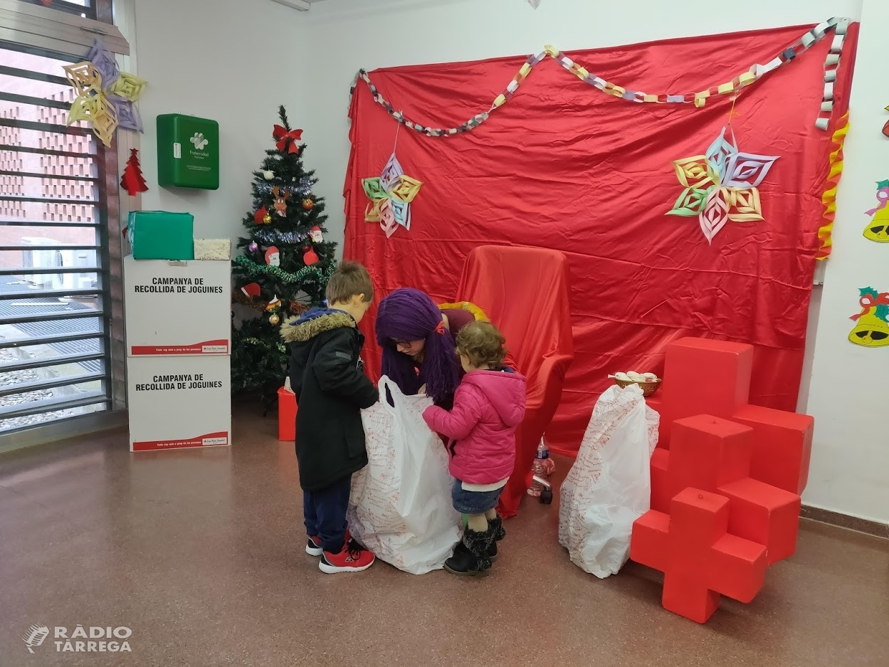Creu Roja reparteix 6.000 joguines a 3.000 infants de les comarques de Lleida