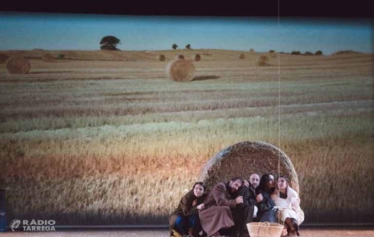 """La 25a Temporada de Teatre de Tàrrega reprèn les funcions el dissabte 18 de gener amb """"Rostoll cremat"""", una aguda reflexió sobre la societat actual de la mà de l'autor mallorquí Toni Gomila"""