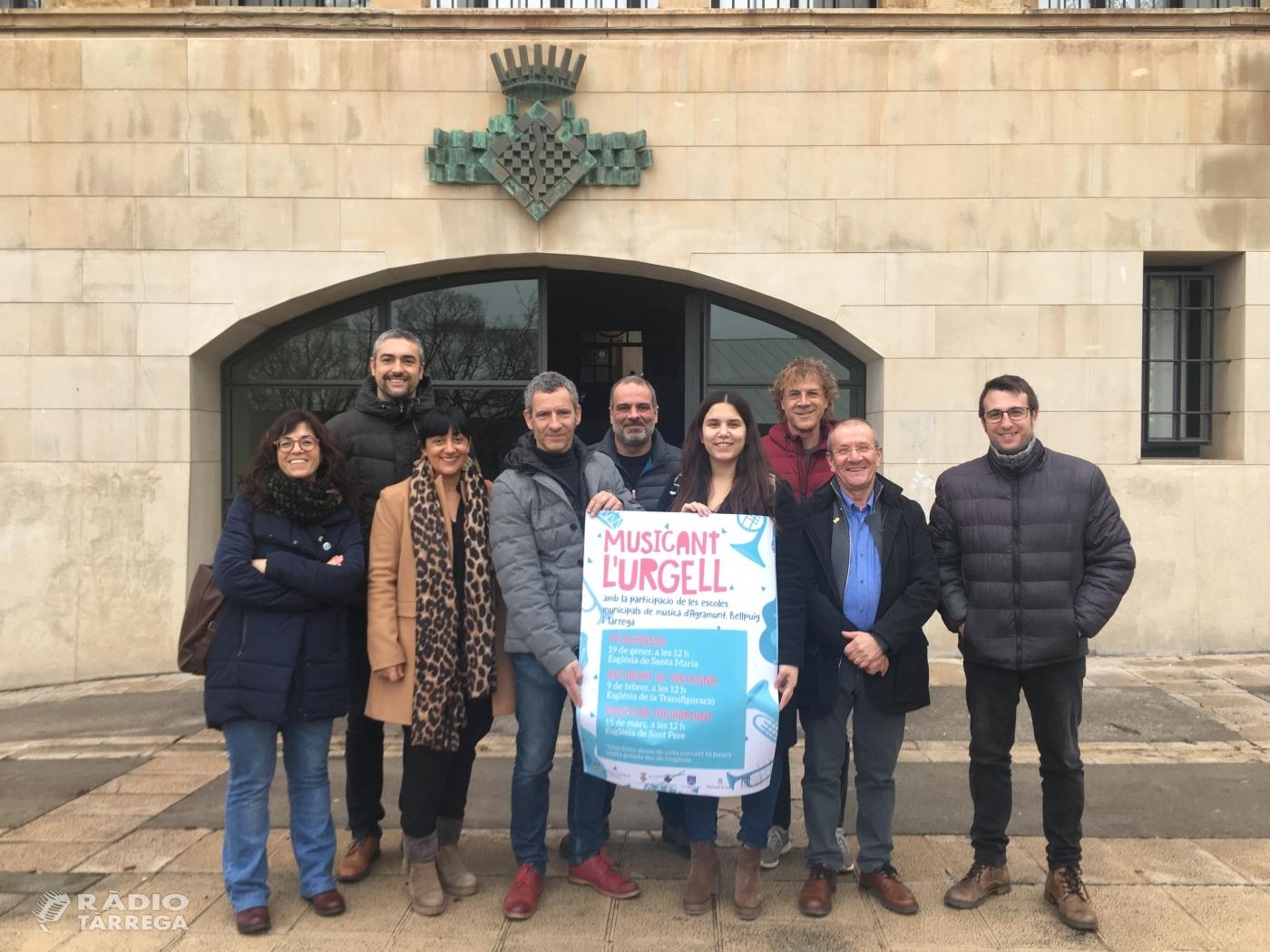 El 2020 acull una nova edició del Musicant l'Ugell a Vilagrassa, Rocafort de Vallbona i Puigverd d'Agramunt