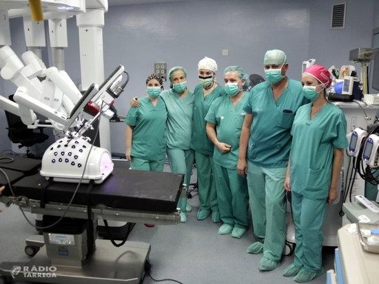 L'Hospital Arnau de Vilanova de Lleida ha fet 167 intervencions quirúrgiques amb el nou robot Da Vinci des d'abril