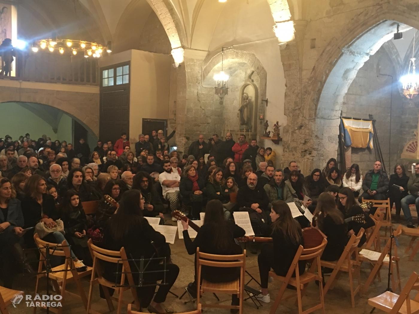 L'església de Santa Maria de Vilagrassa s'omple de gom a gom en la inauguració del cicle del Musicant l'Urgell