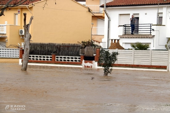 L'alcalde d'Agramunt alerta que el nivell de l'aigua del riu Sió pot anar augmentant fins a la mitja nit