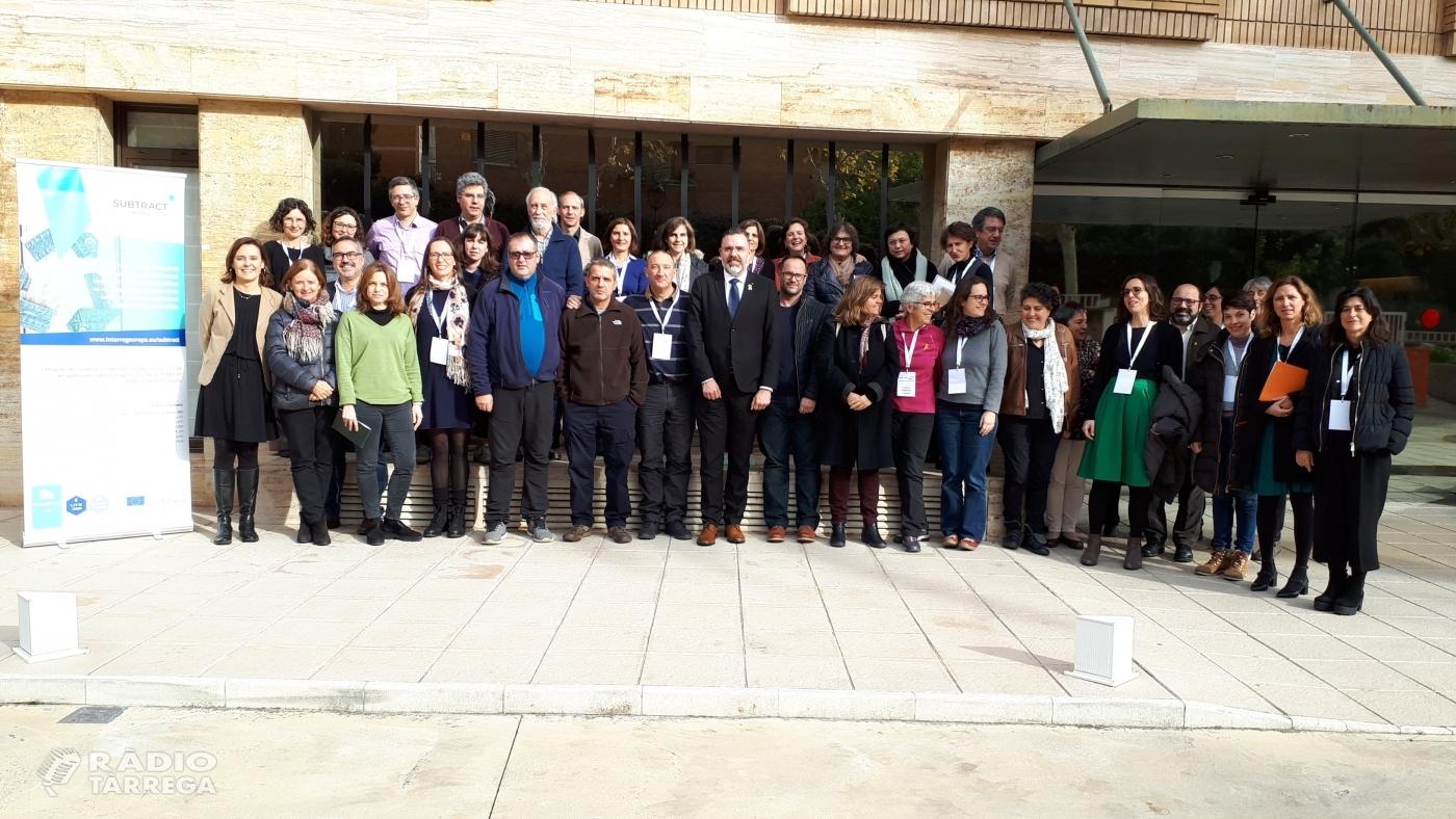 CARTAES escollida per formar part del Comitè Estratègic Català del projecte europeu SUBTRACT