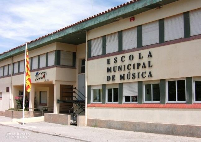 Nova climatització i tancaments a l'escola de música d'Agramunt