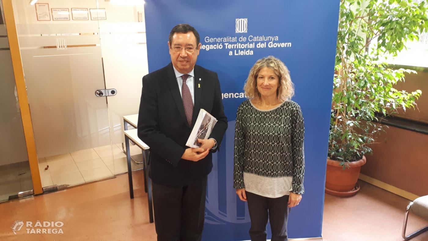 La inversió a Tàrrega prevista en el Projecte de Pressupostos de la Generalitat suma gairebé 2M € entre la xarxa distribució del Canal Segarra Garrigues i la nova estació d'autobusos.