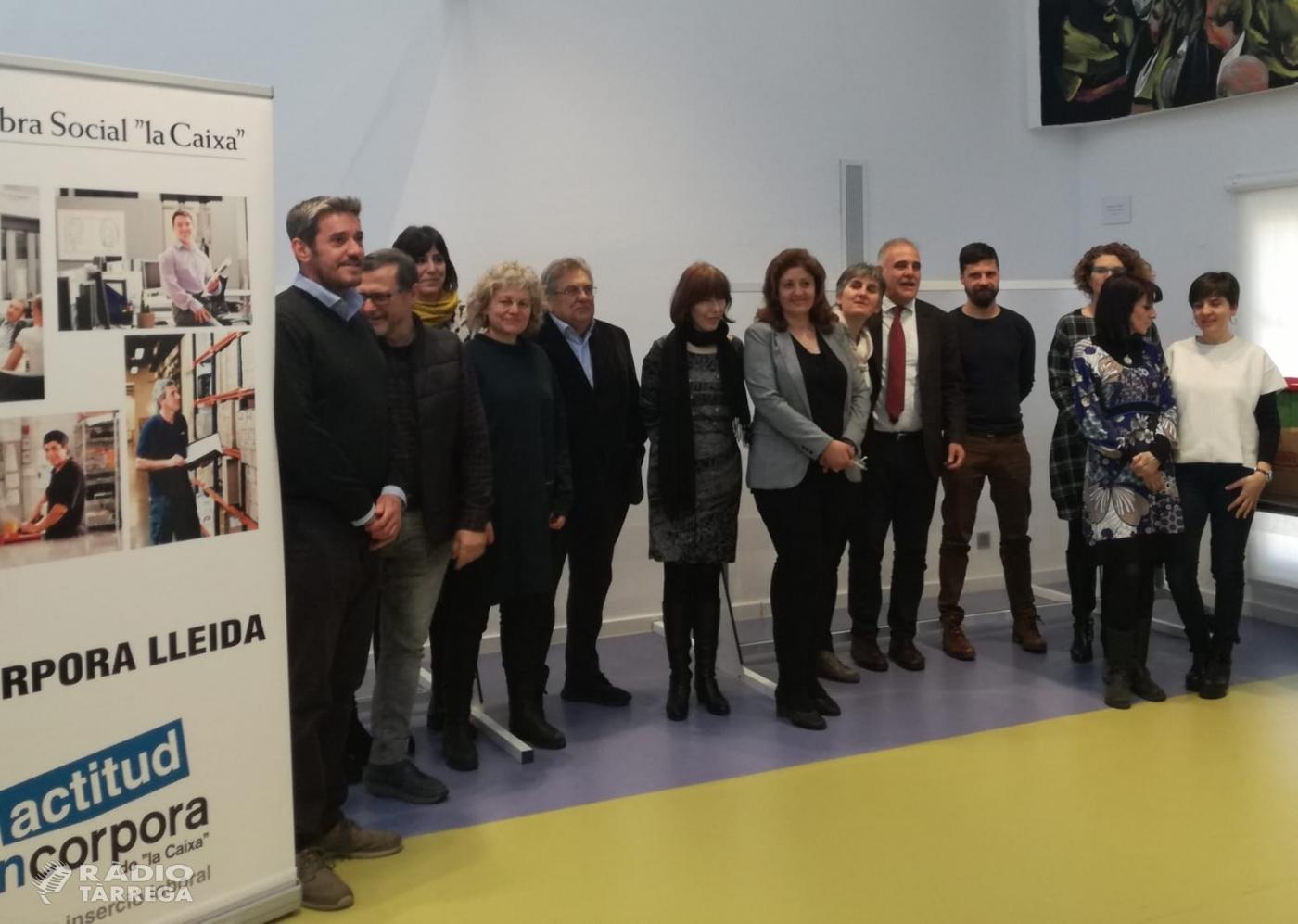 Més de 842 nous llocs de treball gràcies al programa d'inserció sociolaboral Incorpora de 'la Caixa' a Lleida