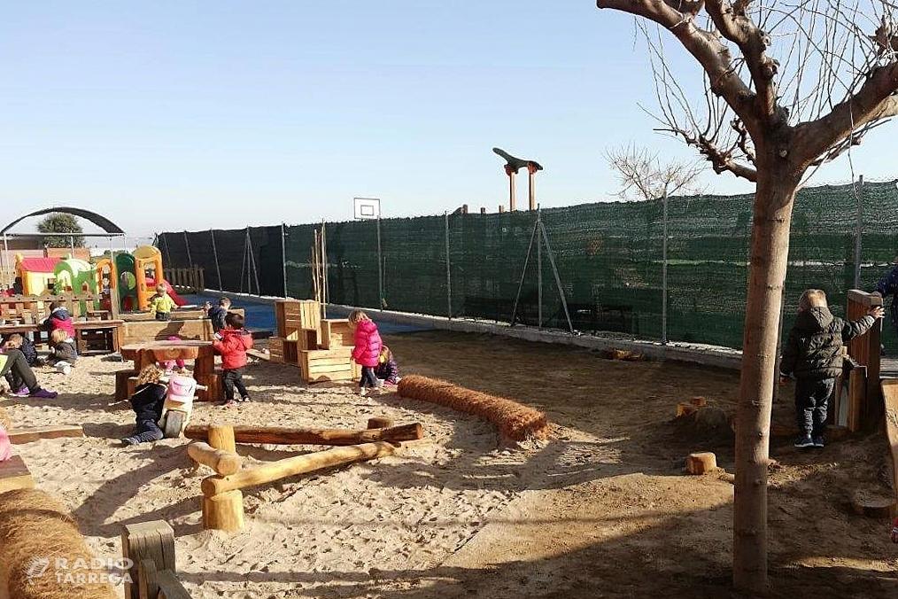 L'Escola bressol municipal l'Escoleta de Bellpuig, realitza canvis als seus espais, a través d'un procés participatiu de tota la comunitat educativa