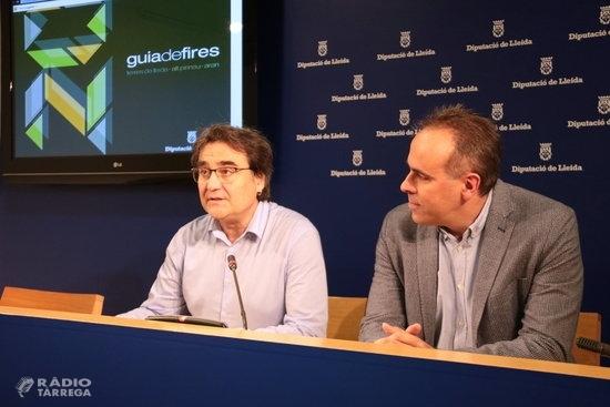 Les comarques de Lleida acolliran el 2020 un total de 192 fires en 125 municipis