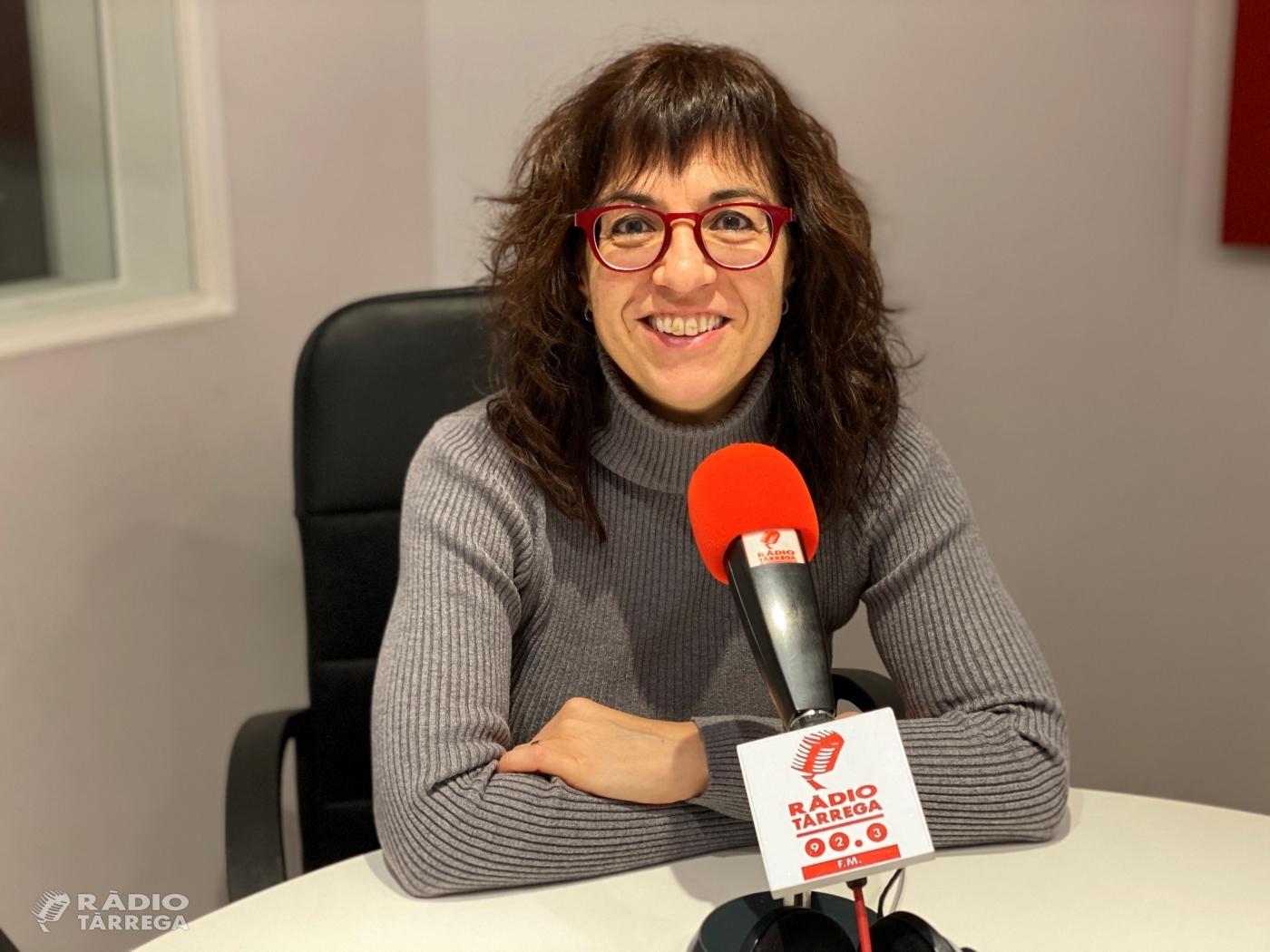 L'alcaldessa de Tàrrega lamenta que no s'informés al Consistori de la presència ahir de la consellera Budó a la ciutat