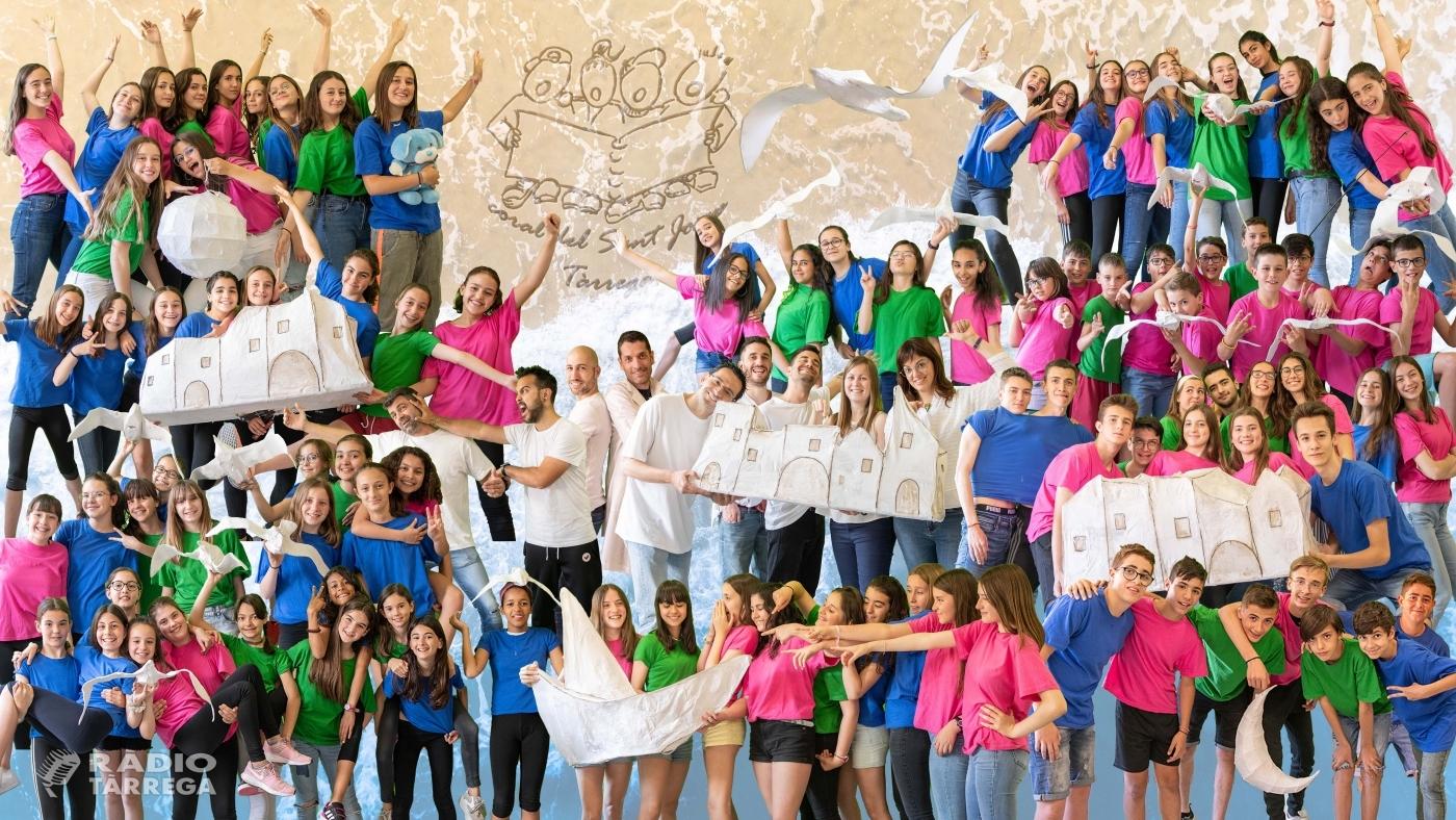 La Coral del Sant Josep de l'escola Vedruna Tàrrega inicia la seva gira catalana de l'espectacle 'Sobreviuré'