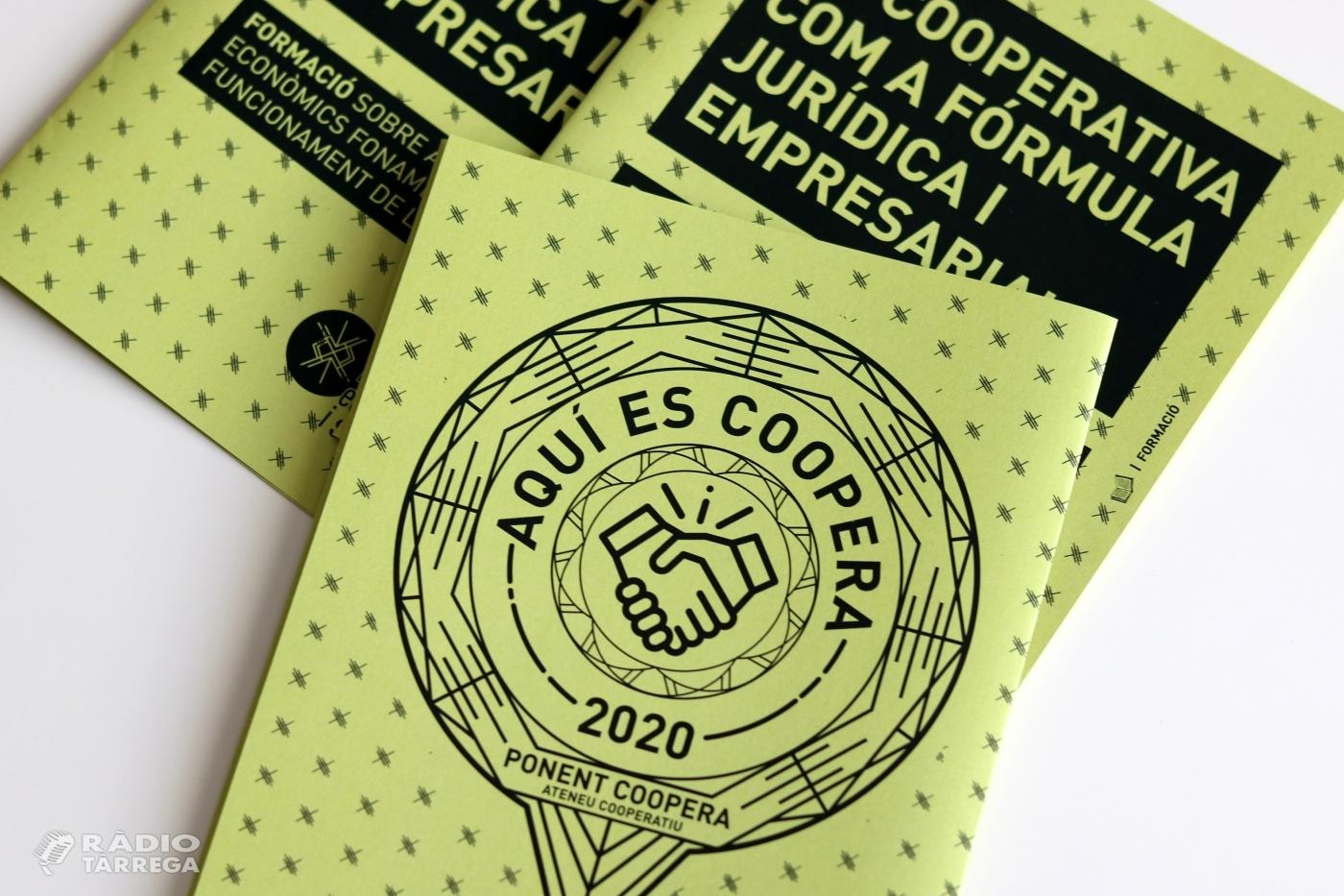 Ponent Coopera crea el segell 'Aquí es coopera' per a gestories i assessories