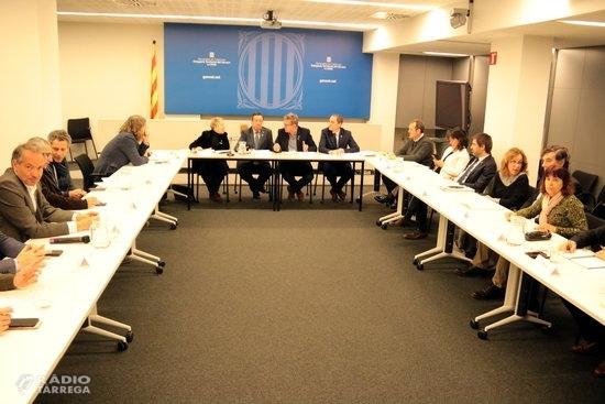 El Govern haurà pagat o executat en un mes i mig un terç dels 8,8 MEUR per fer front als danys dels aiguats a Lleida