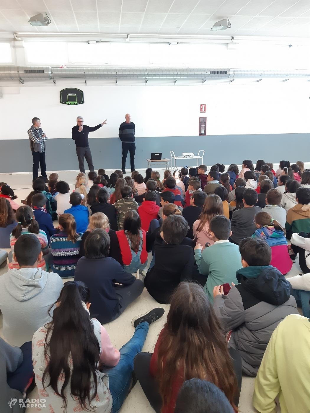 Setmana de projecte internivells sobre el Canvi Climàtic amb alumnes de primària de l'escola Maria Mercè Marçal de Tàrrega