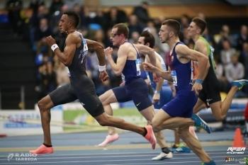 El targarí Arnau Monné, vuitè d'Espanya en la categoria de 60 metres en el Campionat d'Espanya Absolut d'Atletisme en Pista Coberta