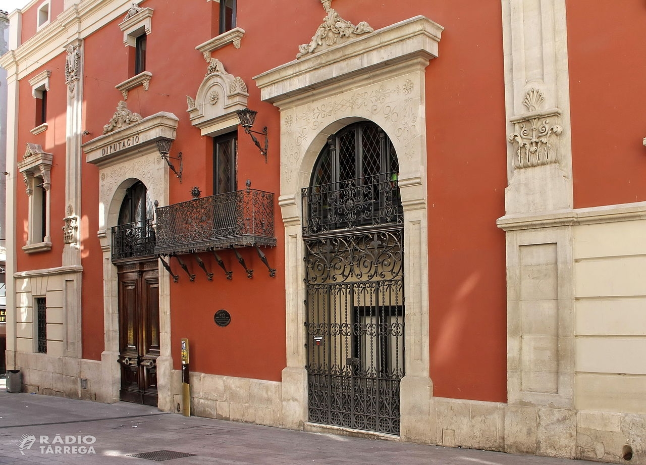 La Diputació de Lleida cessa l'activitat de cara al públic i facilita la conciliació dels treballadors pel coronavirus
